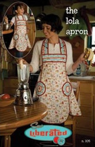 Sew Liberated Lola Mother and Daughter Apron Pattern Set