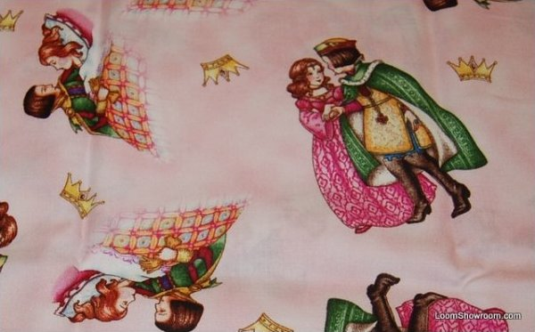 Mary Engelbreit Royal Couple Cotton Quilt Fabric FF115