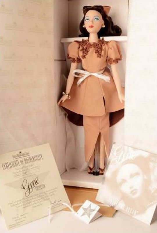 Gene Doll Mel Odom Dolly Cipolla Love at First Sight Limited Edition  Numbered with Certificate of Authenticity EB498