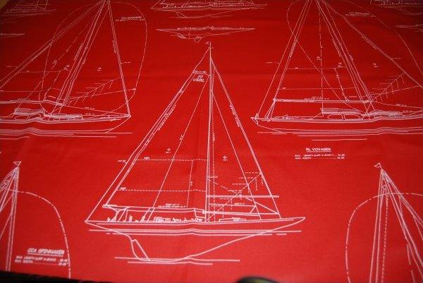 Ralph Lauren Gulf Breeze Canvas Yacht Sailboat Sailing Heavy Weight Cotton Fabric RL201