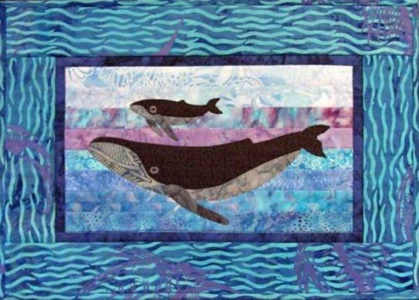 Humpbacks by Castilleja Cotton
