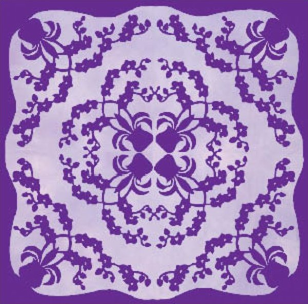 Orchid (Okika Honohono) by Pacific Rim Quilting Company