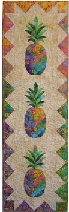 Pineapples by Vicki Stratton / Quilting Time