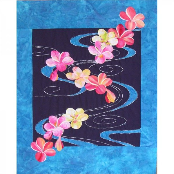 Plumeria Floating on Water by Sylvia Pippen Designs