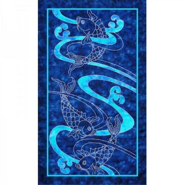 Koi Water & Waves by Sylvia Pippen Designs