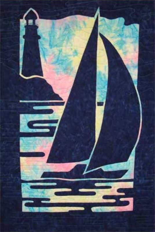 Sailboat and Lighthouse by Pacific Rim Quilting Company