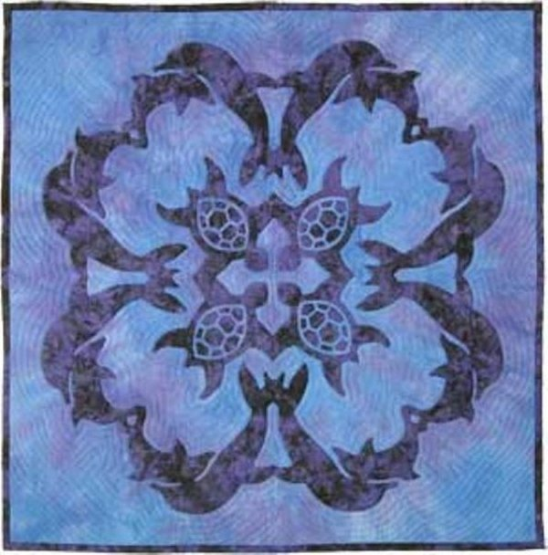 Sea Turtles & Dolphins by Pacific Rim Quilting Company