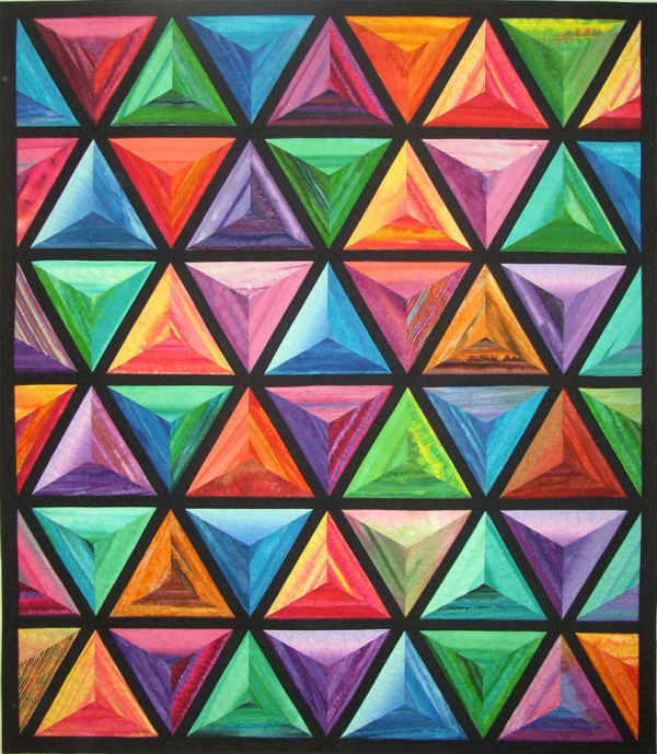Pretty Pyramids by Viv Smith/Willow Brook Quilts