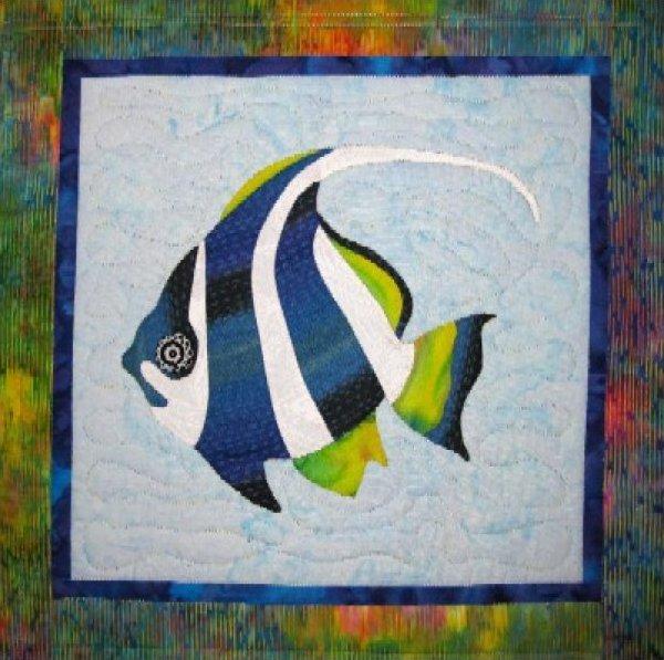 Tropical Fish - Pennantfish by Barbara Bieraugel Designs