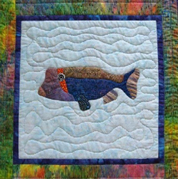 Tropical Fish - Spotted Boxfish by Barbara Bieraugel Designs