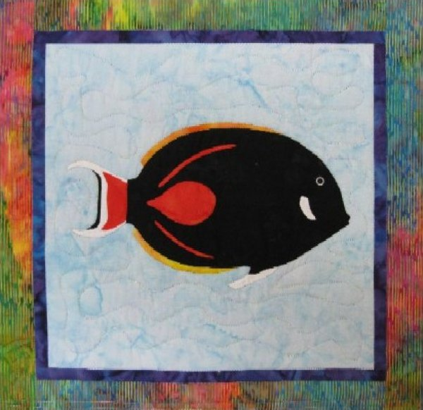 Tropical Fish – Achilles Tang by Barbara Bieraugel Designs
