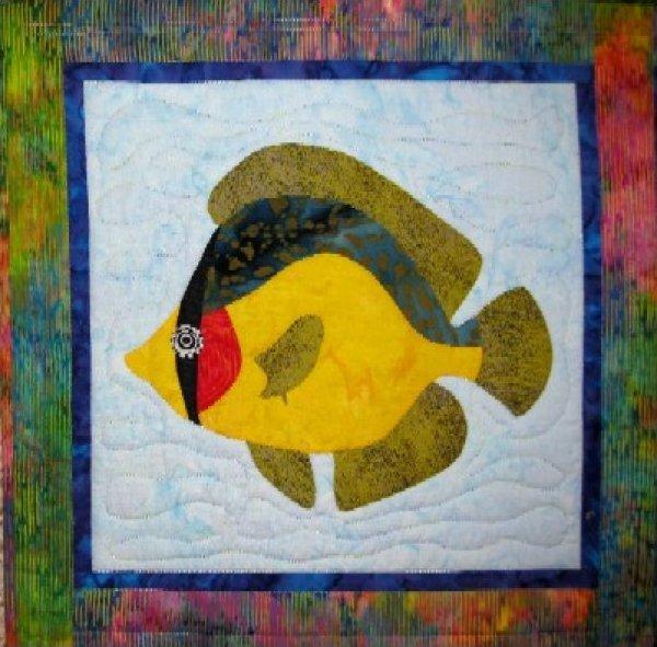 Tropical Fish – Butterflyfish by Barbara Bieraugel Designs