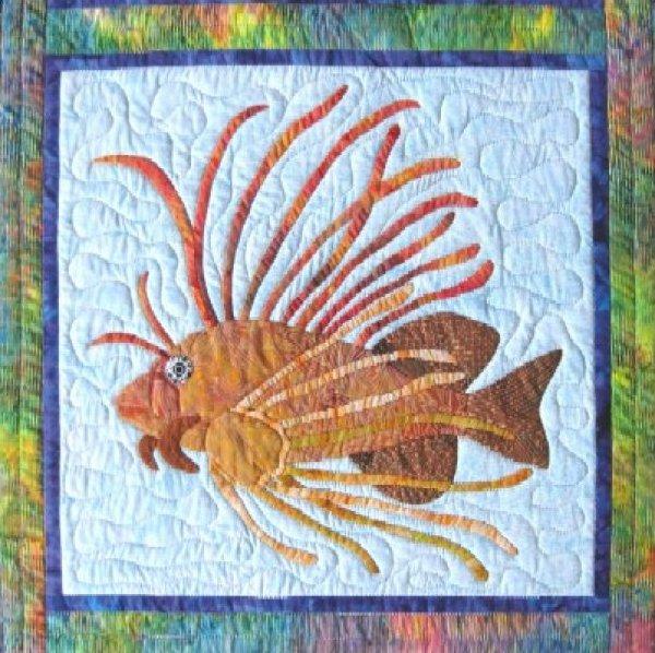 Tropical Fish – Lionfish by Barbara Bieraugel Designs