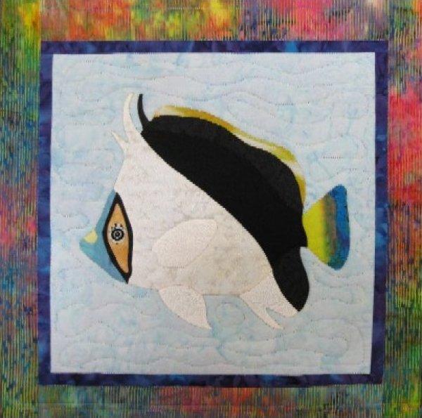 Tropical Fish – Tinker's Butterflyfish by Barbara Bieraugel Designs