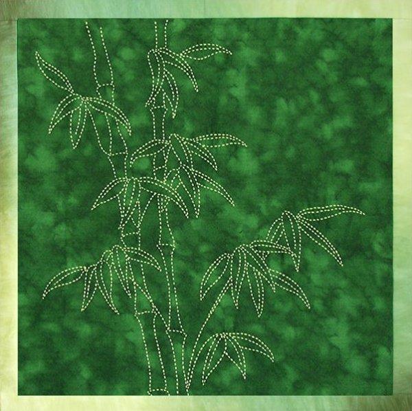 Bamboo Sashiko Design - No thread or Needles