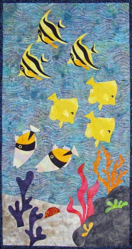 Under the Waves by Castilleja Cotton