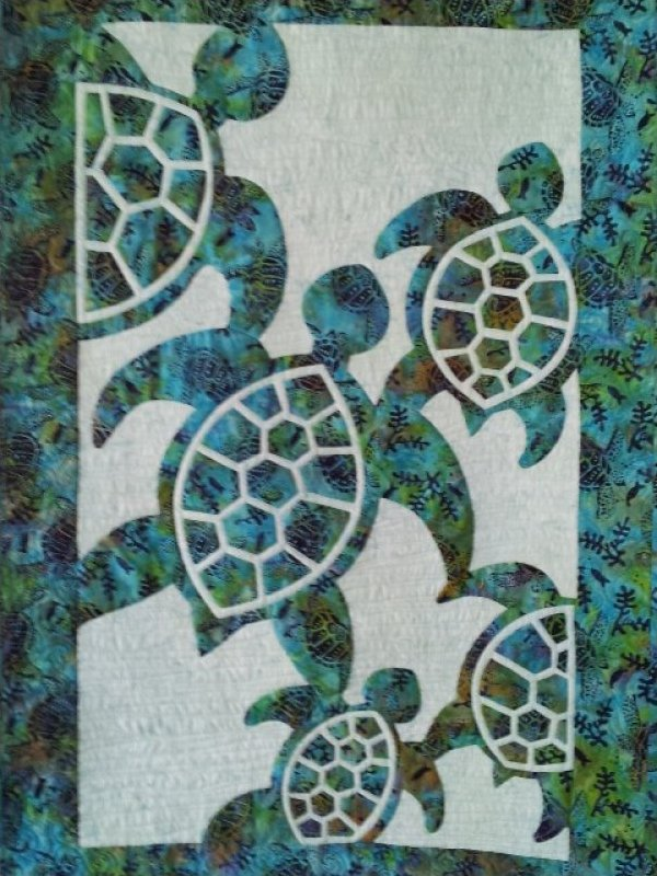 Herd of Turtles by Pacific Rim Quilting Company