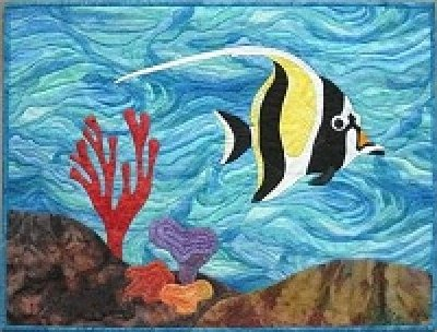 Under the Sea With Me - Moorish Idol by Barbara Bieraugel