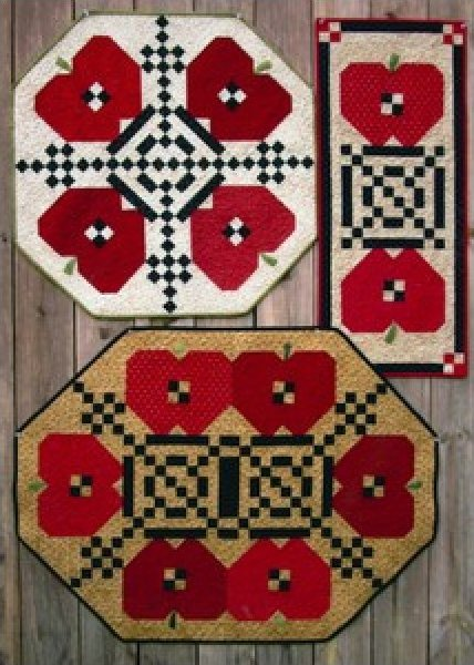Apple Quilts by Suzanne's Art House