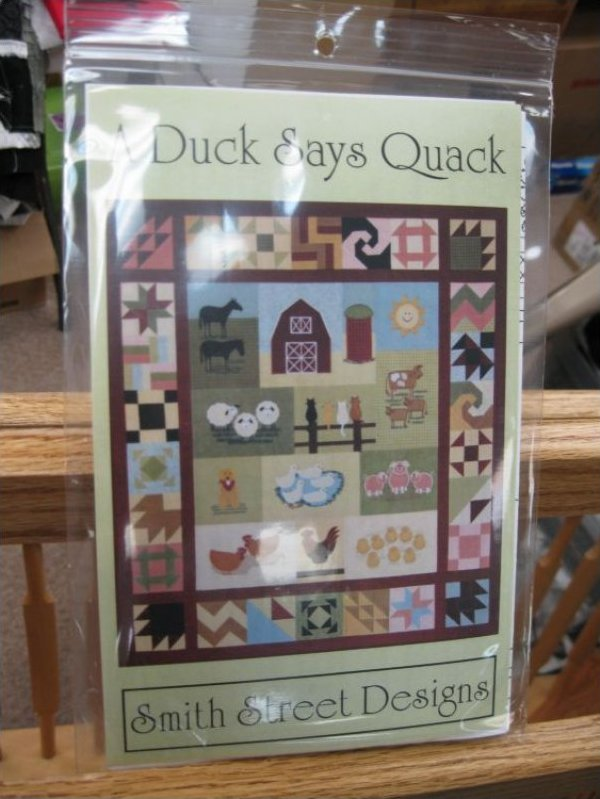 A Duck Says Quack by Smith Street Designs