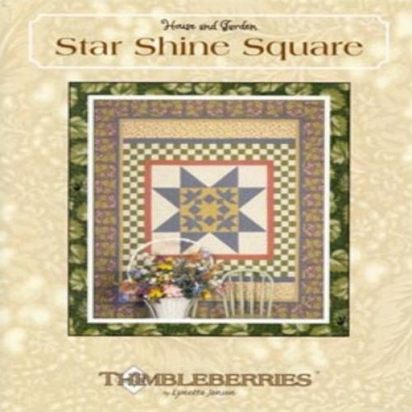 Star Shine Square by Thimbleberries