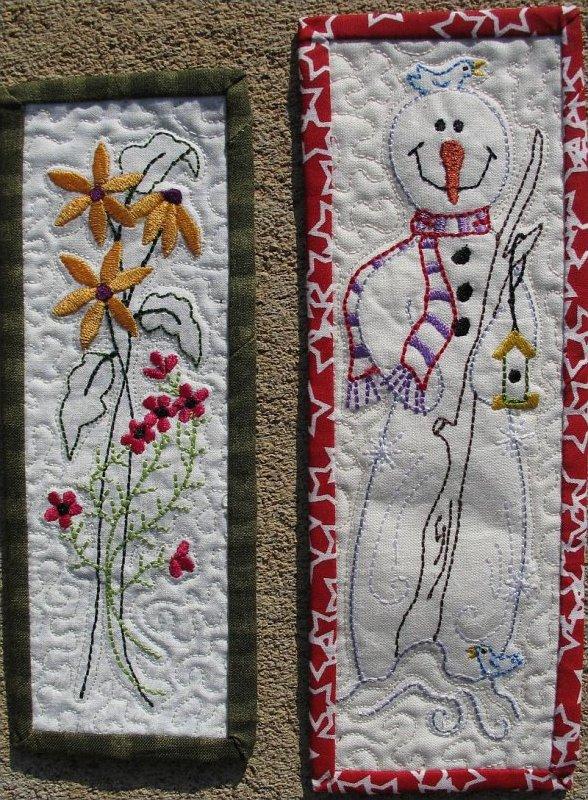Daisy and Frosty Bookmarks by Turnberry Lany by Jana Davidson