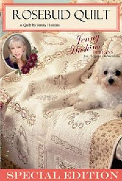 Rosebud Quilt by Jenny Haskins