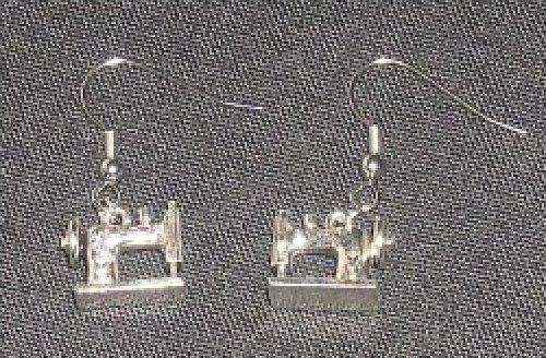 Earrings - Sewing Machine