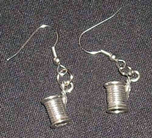Earrings - Spools of Thread