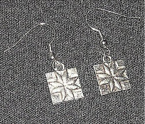 Earrings - Quilt Block