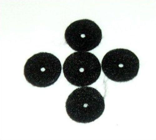 Toy Sewing Machine Spool Felts - Black