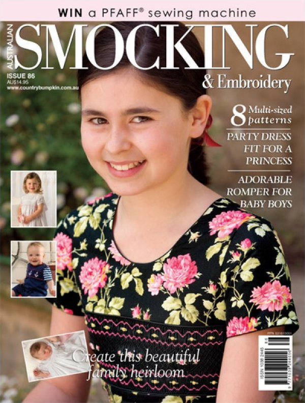 Australian Smocking and Embroidery - Issue 86