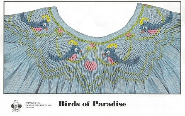 Crosseyed Cricket Birds of Paradise