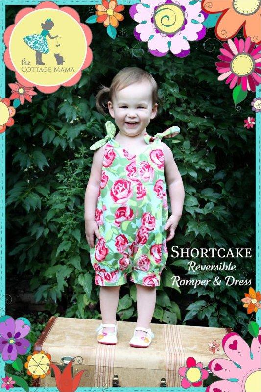 Cottage Mama - Shortcake Reversible Romper & Dress
