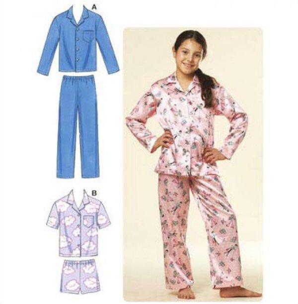 Kwik Sew Boy's and Girls's Pajamas #3604