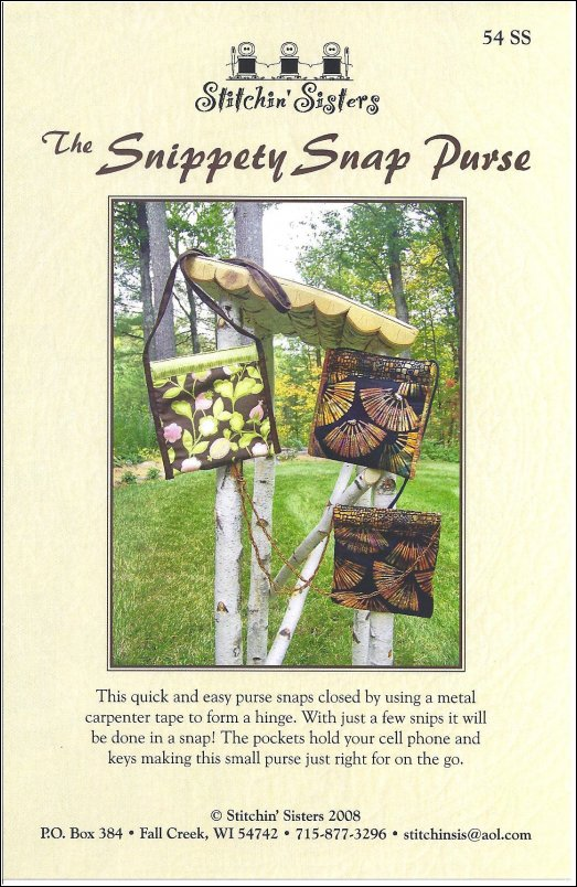 The Snippety Snap Purse
