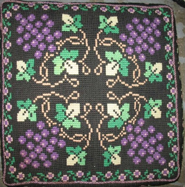 AMISH NEEDLEWORK VINTAGE PILLOWS, several choices available