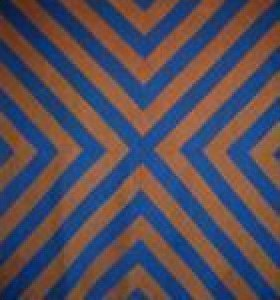 X or CHEVRONS ANTIQUE QUILT