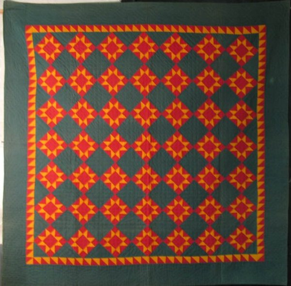 STAR OF THE EAST ANTIQUE QUILT, PA. Mennonite