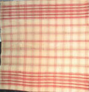 HORSE BLANKET antique red and camel plaid