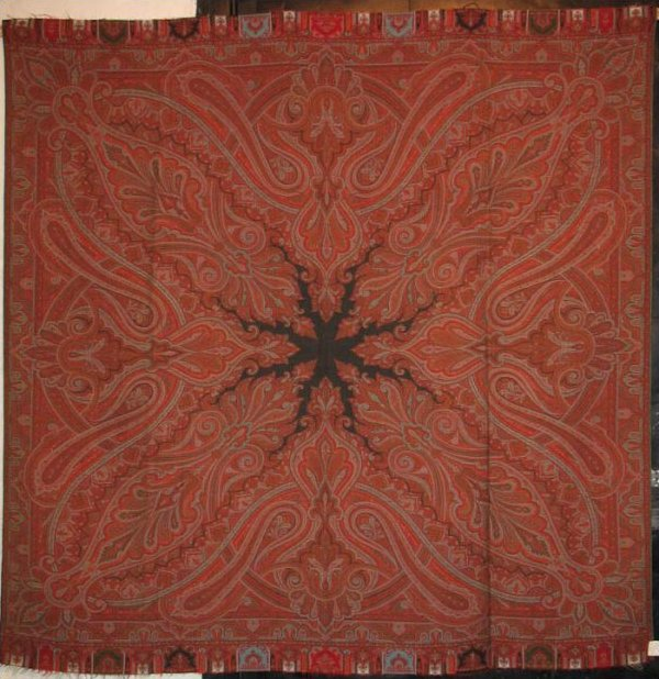 PAISLEY SHAWL- one of many in stock now, in square and long rectangular shapes