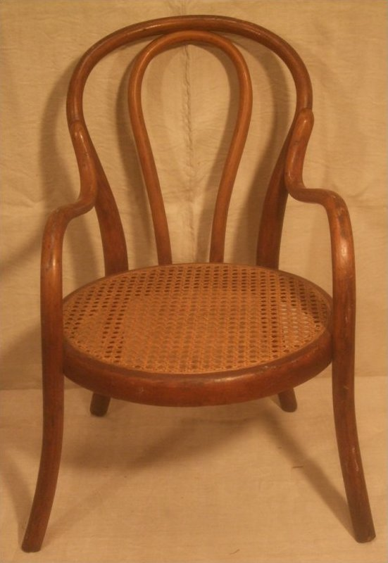AUSTRIAN ANTIQUE BENTWOOD CHILDREN'S CHAIRS (3 AVAILABLE)