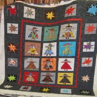 Mary Butler's quilt