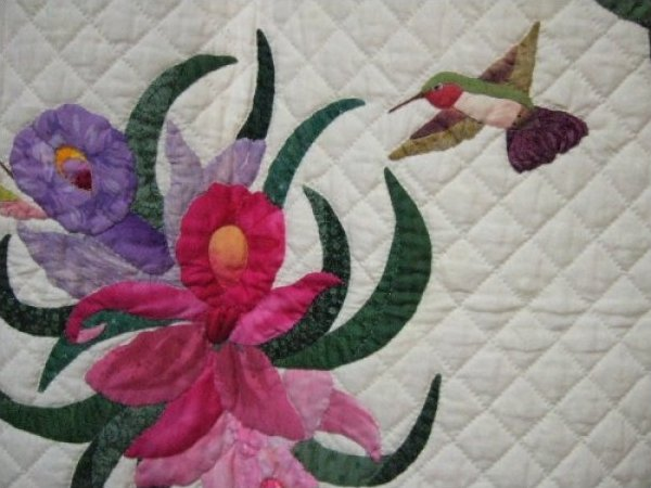 Applique quilt ralli quilts this hand sewn and hand stitu flickr
