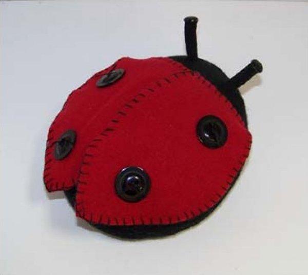 LadyBug Pincushion
