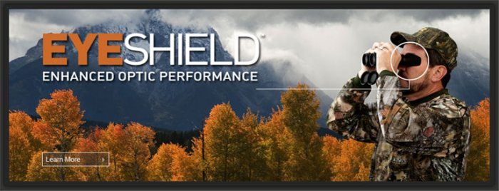 Field Optical Eye Shields for Hunters, Sports Enthusiasts and Microscope Users