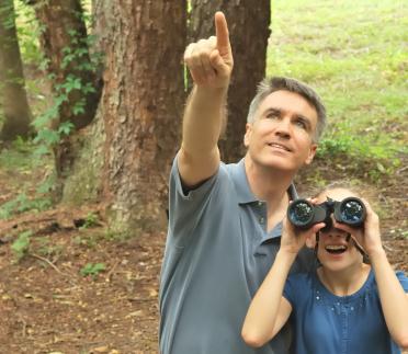 Using Eye Shields For Bird Watching