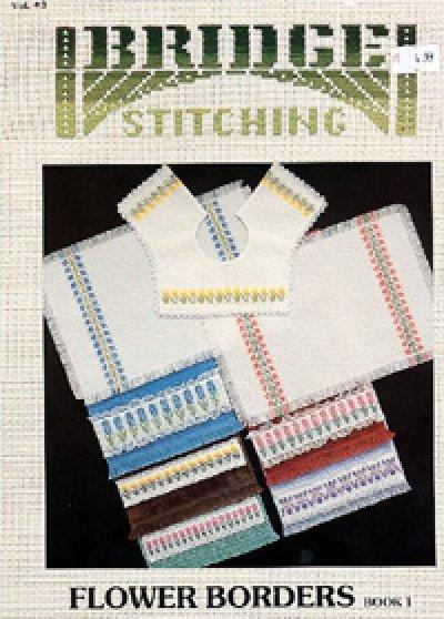 Bridge Stitching:  Flower Borders Book 1:  BS1005