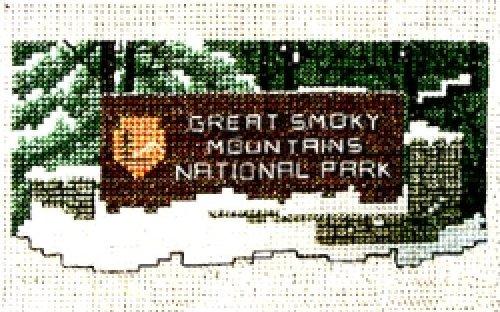 Smoky Mtn Park Sign