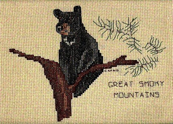 Smoky Mountain Bear:  LL3004